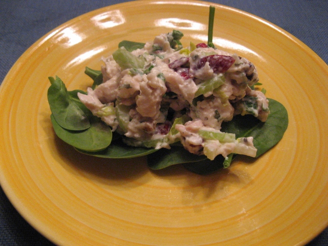 Embrace Your Chicken, Part 2: Cranberry-Walnut Chicken Salad