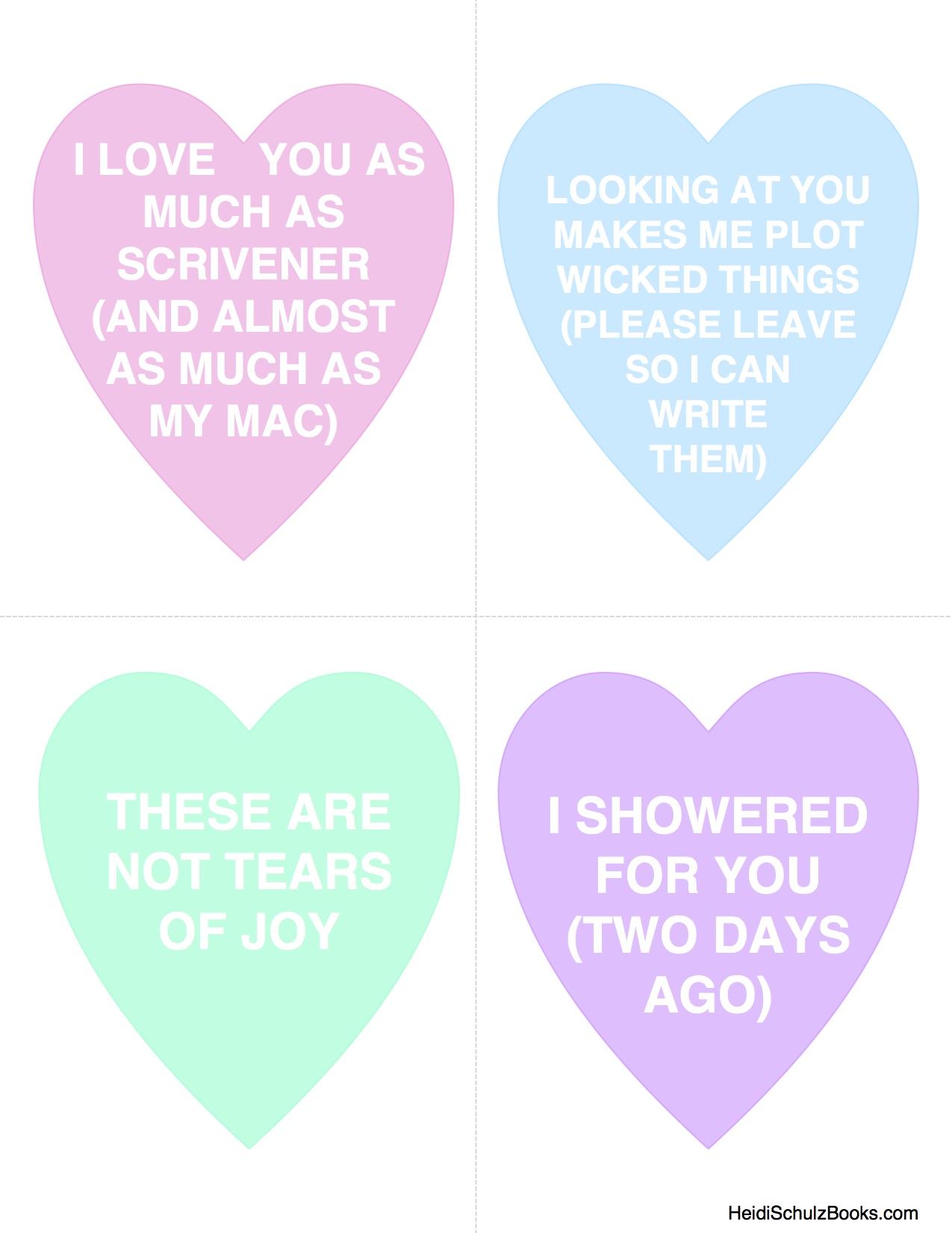 writer valentines