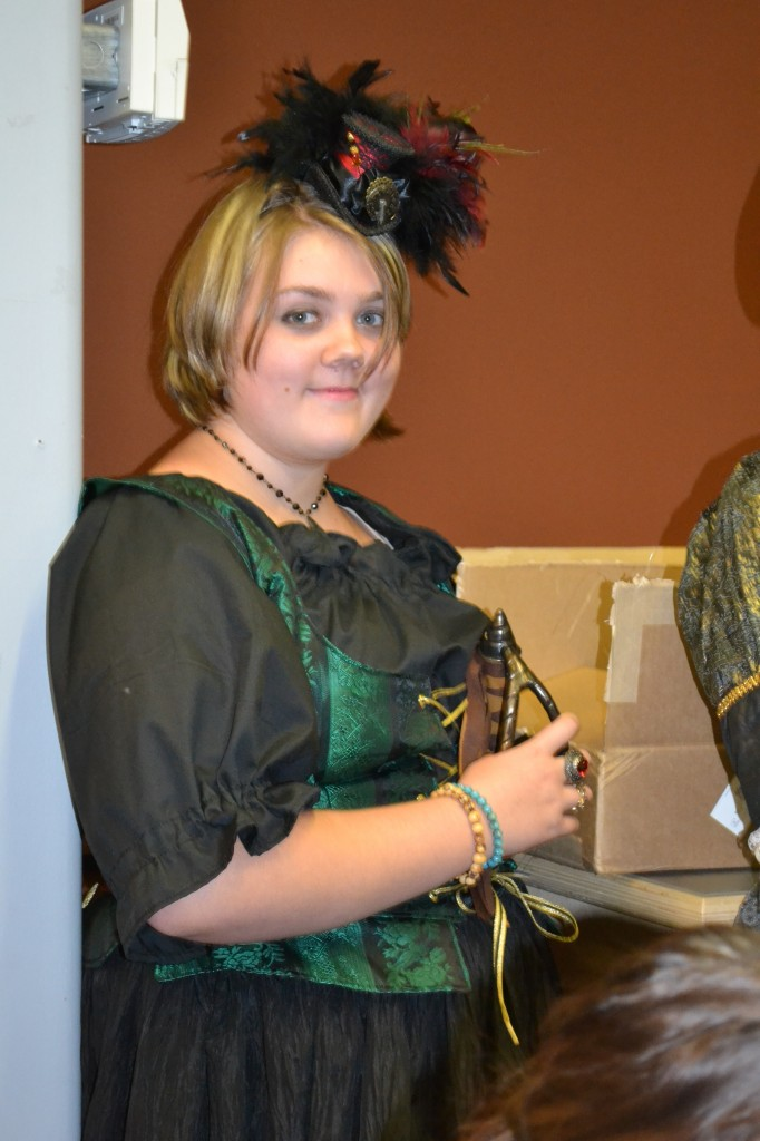 My daughter, Hannah, in full pirate dress. Photo by Kelly Garrett