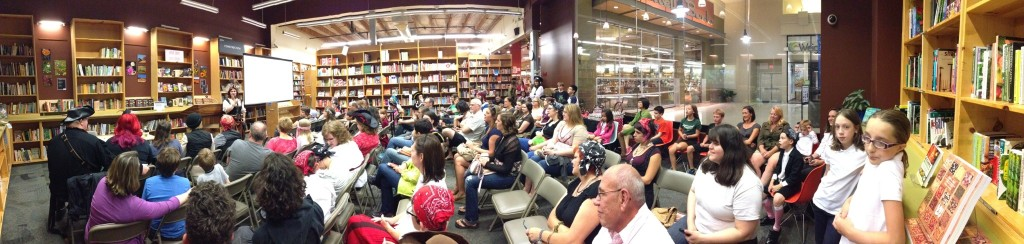 Launch at Powell's