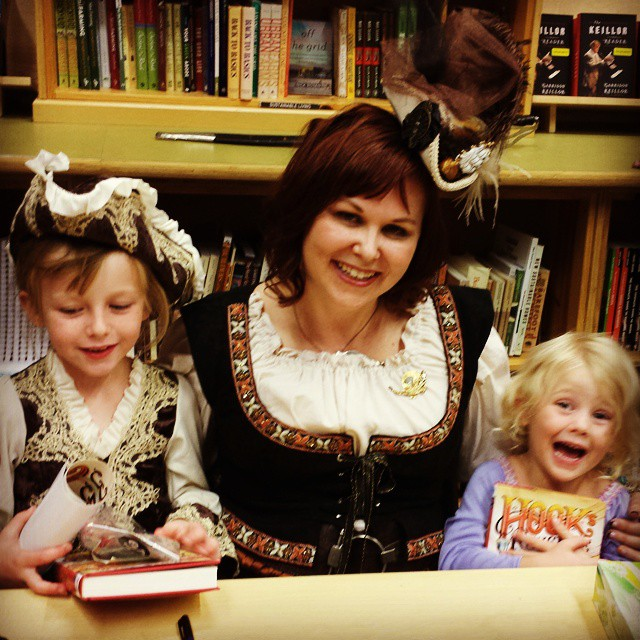 Me and my adorable great-nieces. Photo by Kelly Garrett