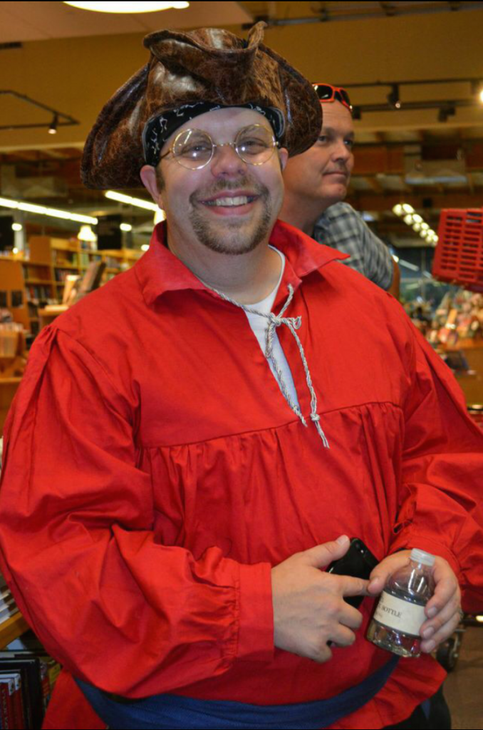 My husband, Walt, as Mr. Smee Photo by Kelly Garrett