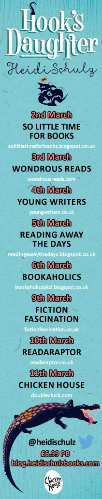 Hook's Daughter blog tour banner